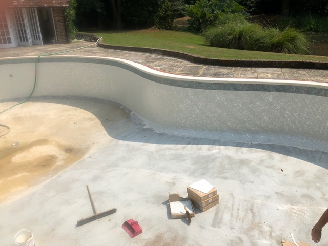 1950's Music Swimming Pool Refurb