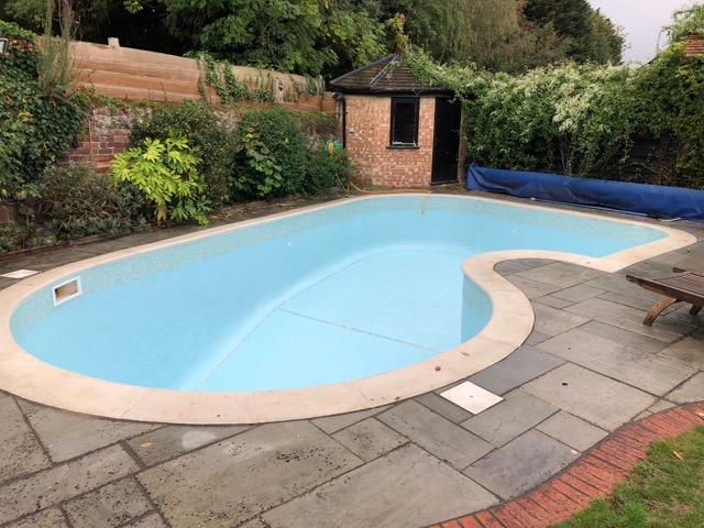 Koi Pond to Pool Reburbishment