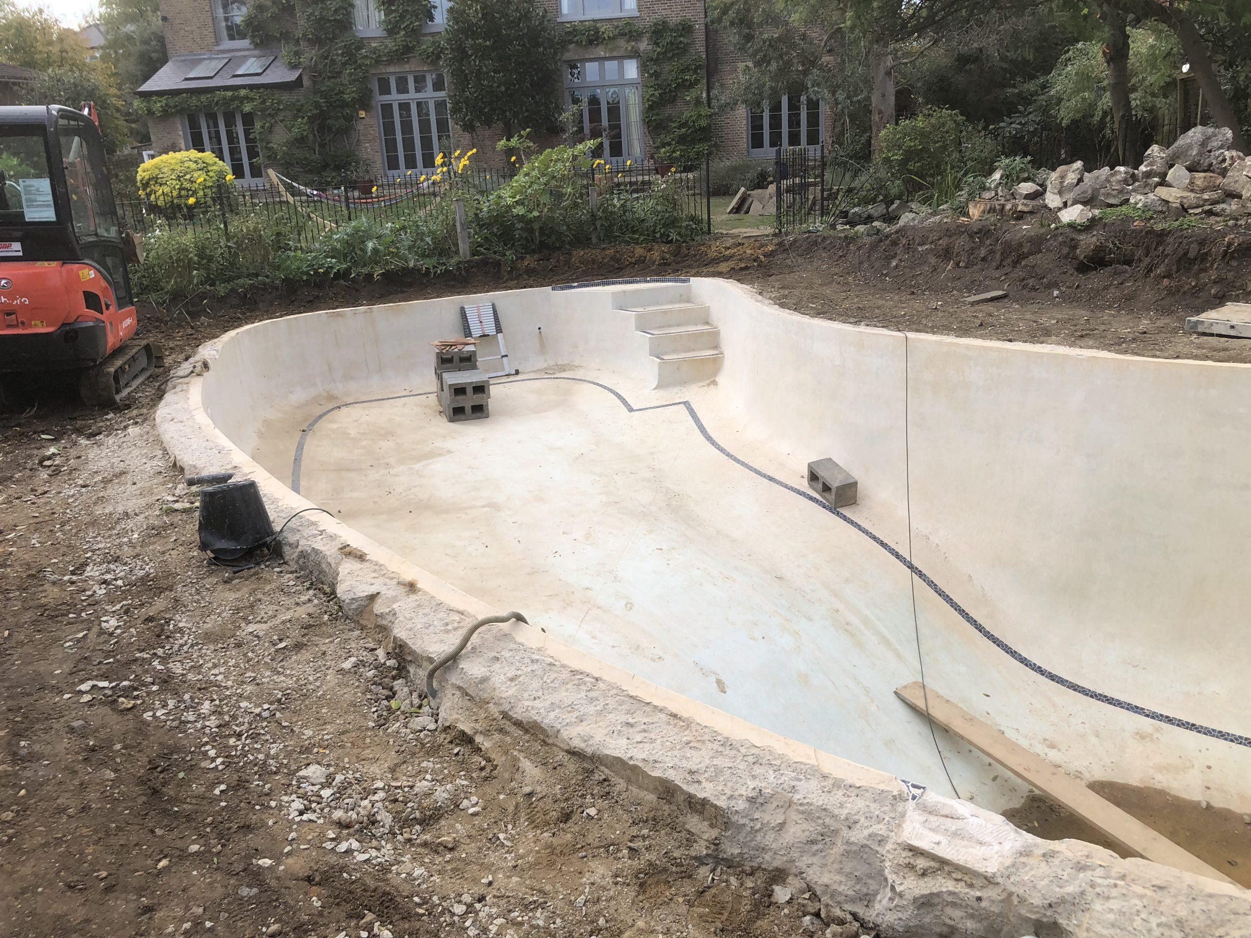 Countryhouse Swimming Pool Refurb